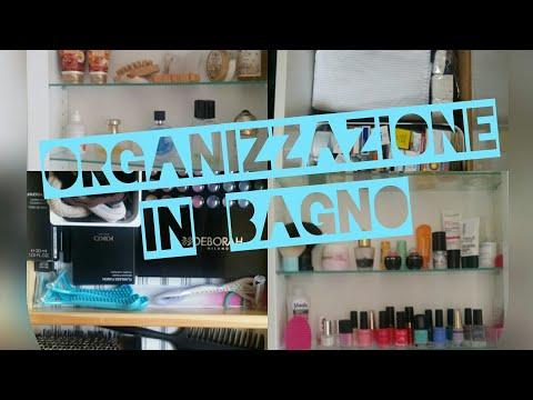 Organizzazione:Il mobile del bagno