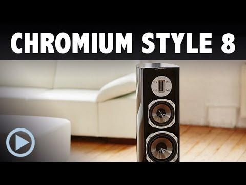 Quadral Chromium Style 8 Standlautsprecher Vorstellung / Test