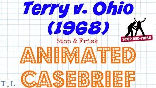 Terry v. Ohio (Stop & Frisk) - Landmark Cases - Episode #12