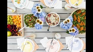 How To Host A Garden Party
