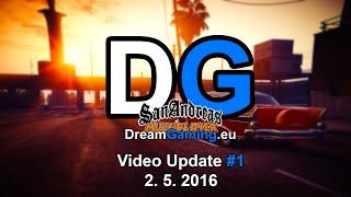 """Video Preview [SA - MP] DreamGaming.eu - Specialní vozidlo """"Želva"""" (Video update #1)"""
