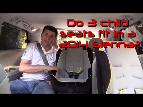 2014 Toyota Sienna Child Seat Review