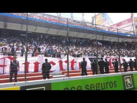 """Liga Deportiva Universitaria 1 vs nacional 0 (mix de barras)"" Barra: Muerte Blanca • Club: LDU"