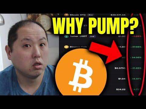 Yra bitcoin miręs