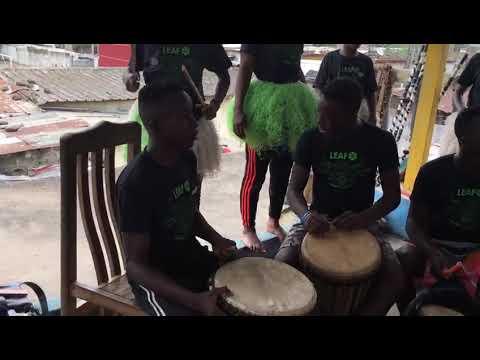 LEAF International Ivory Coast Drummers