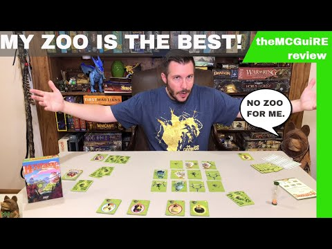 theMCGuiRE review looks at MESOZOOIC Card Game