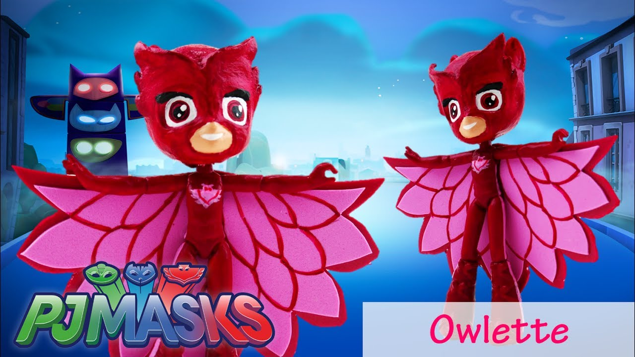 DIY Custom PJ Masks Owlette My Little Pony Equestria Girls Minis Tutorial Disney Jr