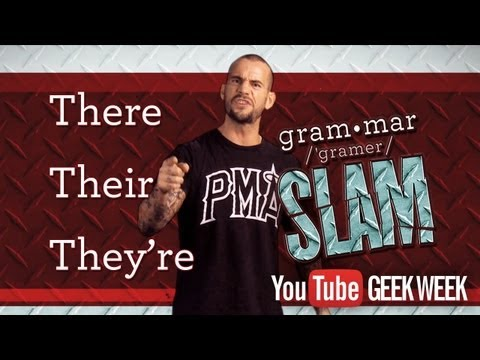 CM Punk Grammar Slam Will Wrestle Your Language Mistakes Into Submission