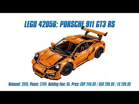 Vidéo LEGO Technic 42056 : Porsche 911 GT3 RS