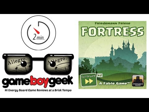 The Game Boy Geek's Allegro (2-min) Review of Fortress