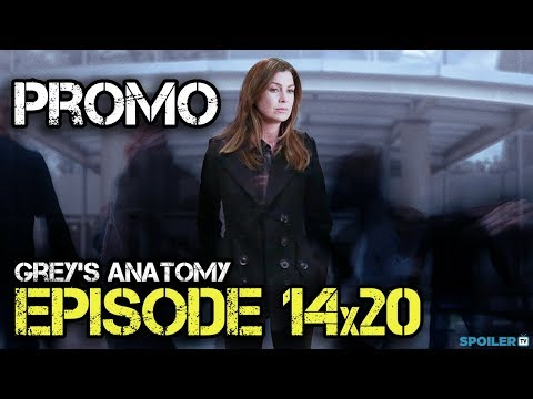 Grey's Anatomy 14.20 Preview
