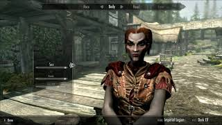 Skyrim Mods: Better Dark Elf Presets (PS4/XBOX1)