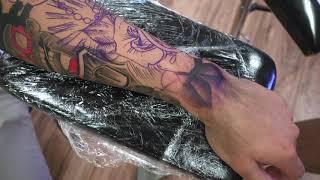 Praying Hands Tattoo Time Lapse