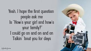 Mason Ramsey - Famous (Lyrics) - Video Youtube