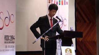 ASDC14 Grand Finals : Regrets the Emphasis on Miracles in the Spread of Religion