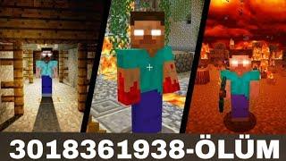 DİKKAT BU SEEDDE ÖLÜM VAR! KESİNLİKLE GİRMEYİN Minecraft PE EN KORKUNÇ SEED