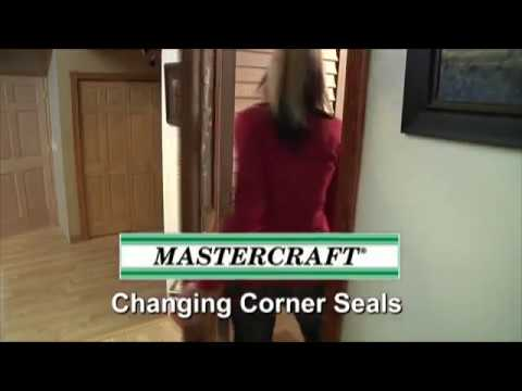 MASTERCRAFT Exterior Doors > Exterior Doors > Corner Seal Replacement