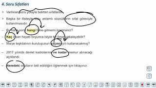 Eğitim Vadisi TYT Türkçe 16.Föy Sıfatlar - 2 Konu Anlatım Videoları