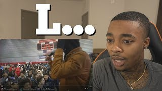 NOBODY Stood Up When I Performed My Song...😥 TOP 5 YOUTUBE WALKING Ls REACTION & RANT!