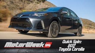 Quick Spin: 2017 Toyota Corolla