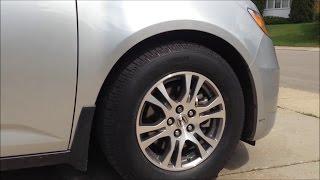 REVIEW: BEST TIRES for the Honda Odyssey Minivan