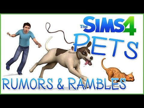 Pets in the Code?! ♢ Sims 4 Pets Rumors & Rambles