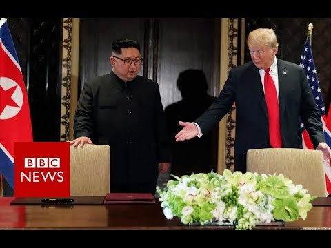US and North Korea: What might peace look like? – BBC News