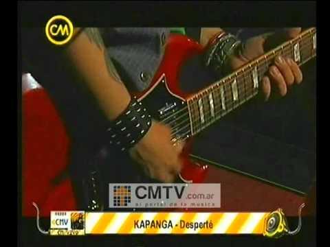 Kapanga video Desperté - CM Vivo 2009