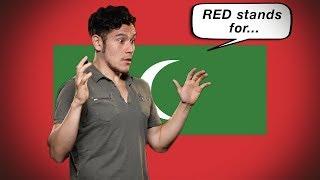 Flag / Fan Friday MALDIVES! (Geography Now!)