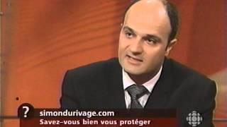 Prévention solaire, Simon Durivage