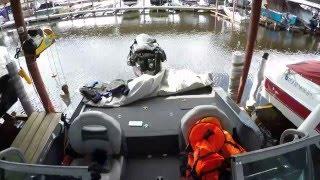 Небольшой видео-обзор лодки Finval 555 или 545 Sport Angler.