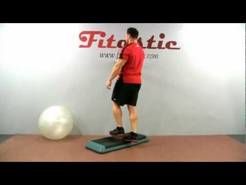 Single Leg Body Weight Calf Raise