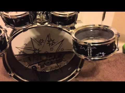 11 Piece Children's Kid's Musical Drum Set  #velocitytoys
