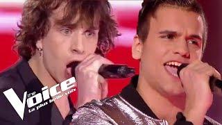 Rita Mitsouko - Histoires d'A   Florent Marchand vs Xam Hurricane   The Voice France 2018   Duels