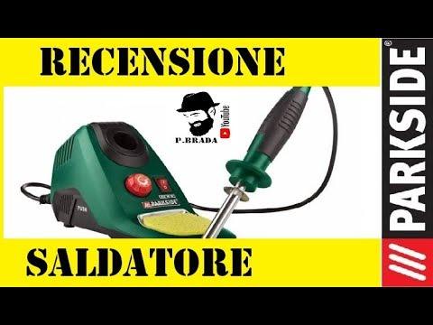 Recensione stazione saldante Parkside by Paolo Brada DIY