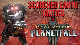 Scorched Earth Tactics in Age of Wonders: Planetfall