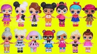 L.O.L. Surprise! Dolls Dress Up Babies + Mommies Disney Princess Palace Pets Pool Sisters Unboxed!