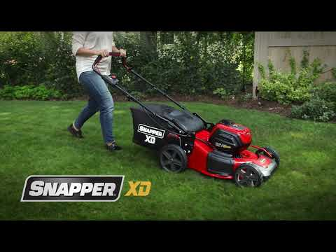 Snapper SXDWM82 21 in. 82V Max Lithium-Ion Cordless Push in Lafayette, Indiana - Video 1