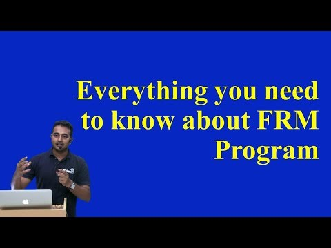 Everything you need to know about FRM Program!
