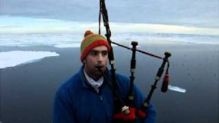Bagpiping in the Arctic...a record breaker??