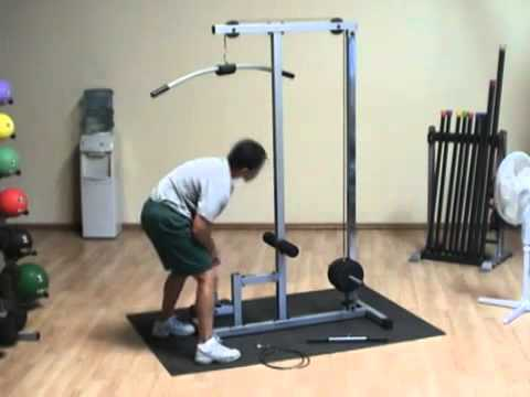 Powerline by Body-Solid PLM180X Lat Machine