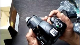 Nikon D3300 Unboxing And Reviews Nikon D3300 Hands-on 