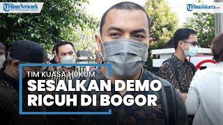 Kuasa Hukum Sesalkan Kericuhan saat Demo Tuntut Pembebasan Rizieq Shihab di Balai Kota Bogor