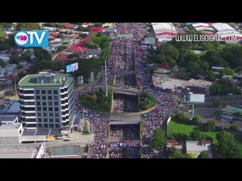 Familias demuestran su respaldo a la Paz con multitudinaria caminata