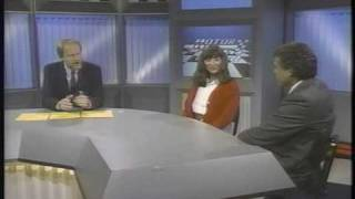 Drag Racing Shirley Muldowney & Don Prudhomme 1989 Motorweek Illustrated Clip