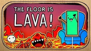 How to Play the Floor is Lava? (Terrible Advice)