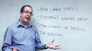 Thumbnail for Program Update: Beta Launch Continues, First Working Group on Child Enrollment Formed (Video Diary #3)
