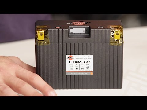 Shorai Lithium Battery LFX36L3-BS12 10 ($3301) Off! - RevZilla