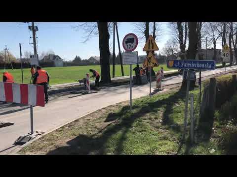 Wideo1: Przebudowa ul. Lipowej w Wilkowicach