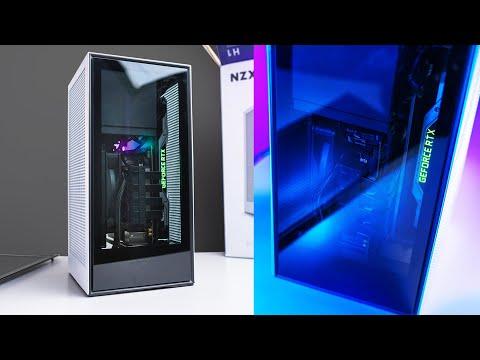NZXT H1 - White Matte (Mini-ITX-Gehäuse)